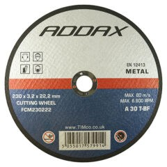 Bonded Abrasive Disc - For Cutting