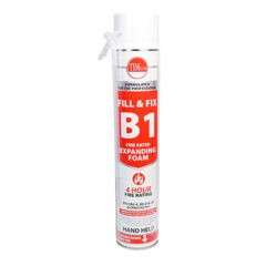 B1 Fill & Fix Fire Rated Expanding PU Foam