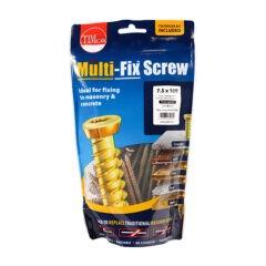 Multi-Fix Concrete Screw - Countersunk