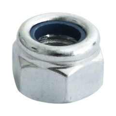 Nylon Nut - Type P - Zinc