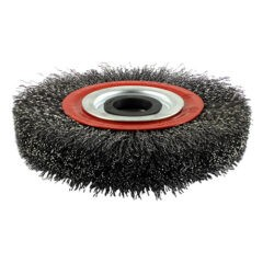 Steel Wire Wheel Brush with Plastic Reducer Set