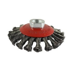 Twisted Knot Wire Bevel Brush